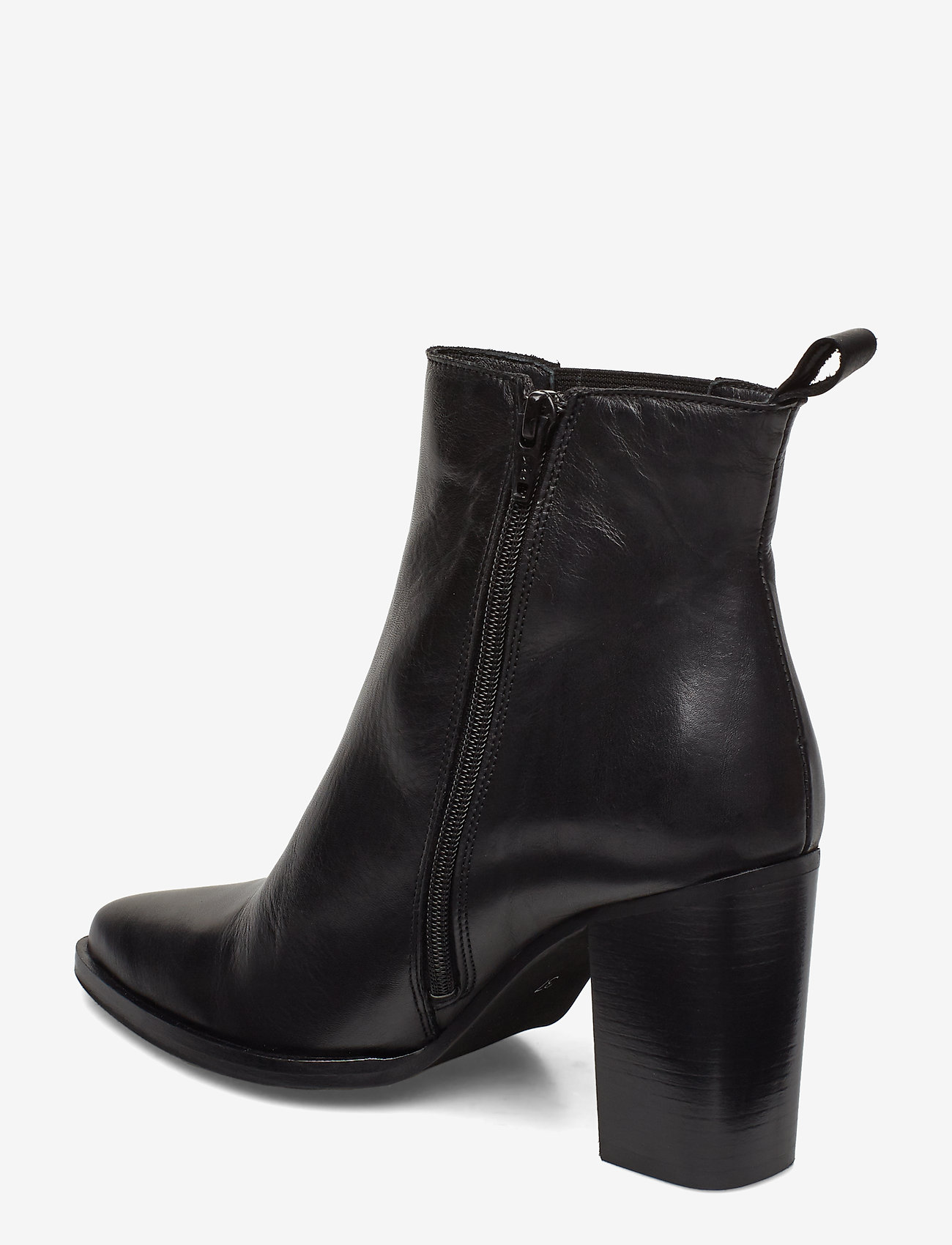 Biajudia Leather Boot (Black) - Bianco