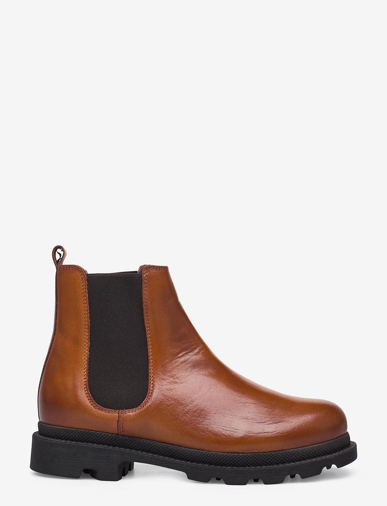 Bianco - BIACYAN Leather Chelsea Boot - cognac - 1