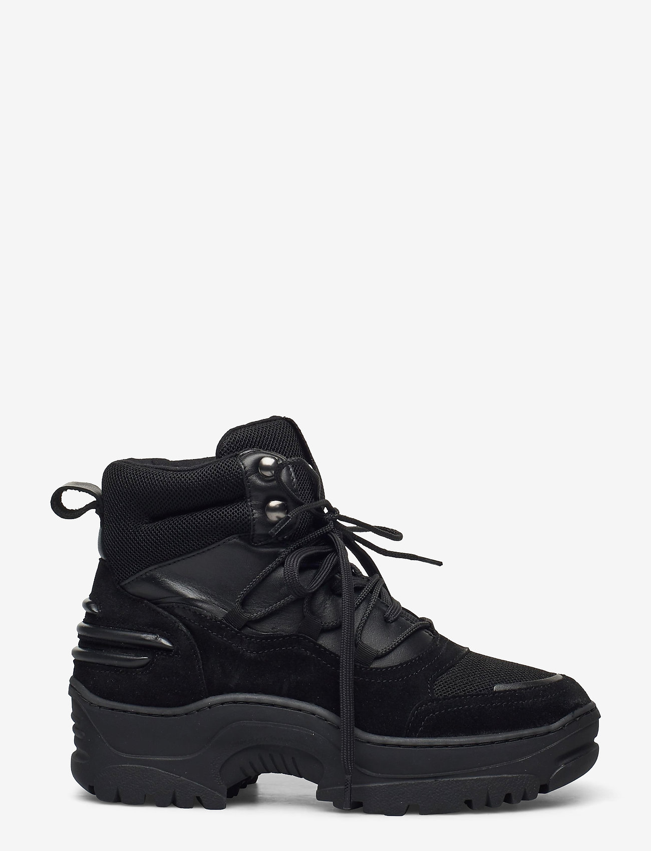 Bianco - BIACORO Chunky Winter Boot - platte enkellaarsjes - black 1 - 1