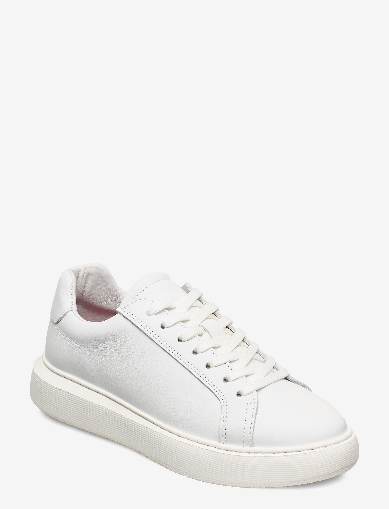 Bianco - BIAKING Clean Leather Sneaker - lage sneakers - white - 0