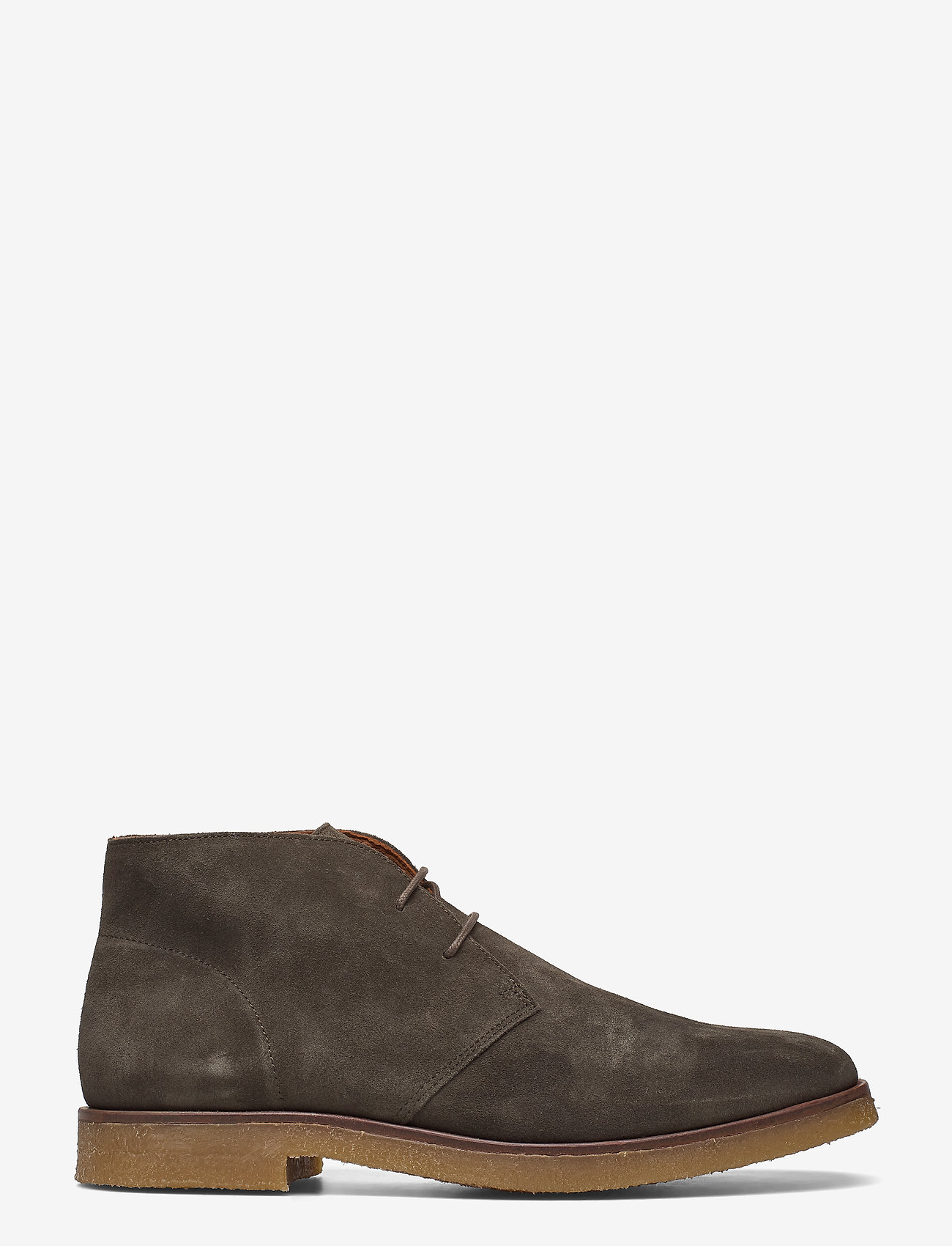 Bianco - BIADINO Laced Up Boot - desert boots - dark green 1 - 1