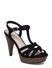 Strappy Sandal JFM17 - BLACK