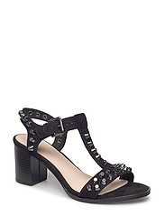 Sandal with Heavy Studs - 10-BLACK