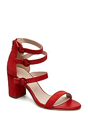Multi Strap Sandal - RED 1