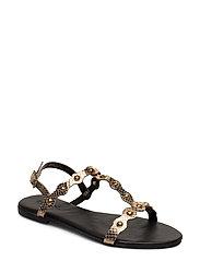 BIABITT Leather Studs Sandal