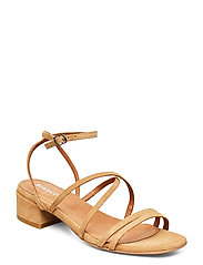 BIADEA Suede Strap Sandal - LIGHT BROWN 1
