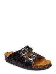 Glitter Bio Sandal - BLACK 5