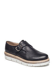Cleated Monk Loafer JFM18 - 10-BLACK