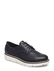 Laced Up Shoe - 10-BLACK