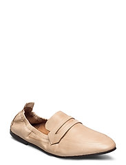 BIASTORY Leather Loafer - NATURAL