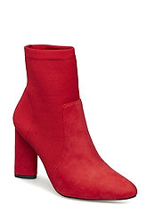 Knit Sock Boot - RED