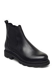 BIACYAN Leather Chelsea Boot - BLACK