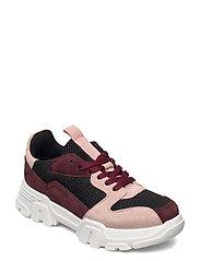 BIACANARY Suede Sneaker - BURGUNDY 1
