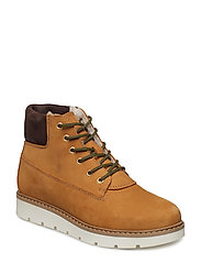 BFANLI Wedge Nubuck Boot - MUSTARD 2