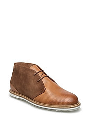 Perforated Boot JFM17 - LIGHT BROWN