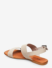 Bianco - BIABROOKE Basic Leather Sandal - flat sandals - natural - 2