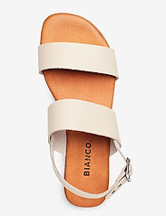 Bianco - BIABROOKE Basic Leather Sandal - flat sandals - natural - 3