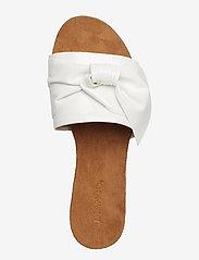 Bianco - BIABONNIE Assym. Bow Slide - sandales - white 3 - 3