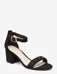 Bianco - BIABELLE Pearl Sandal - heeled sandals - black 1 - 0