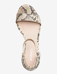 Bianco - BIAADORE Basic Sandal - sandales à talons - snake - 3