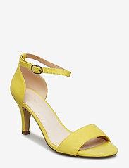 Bianco - BIAADORE Basic Sandal - sandales à talons - yellow 1 - 0