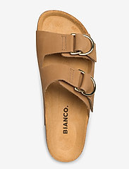 Bianco - BIABETRICIA Leather Sandal - sandales - light brown 2 - 3