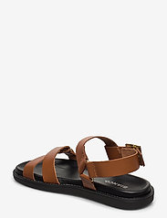 Bianco - BIADEBBIE Leather Strap Sandal - sandales - cognac - 2