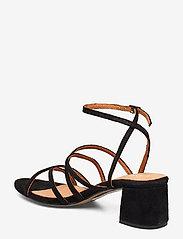 Bianco - BIADAYTON Suede Strap Sandal - sandales à talons - black 1 - 2