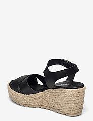 Bianco - BIADANEEN Sandal - espadrilles mit absatz - black - 2