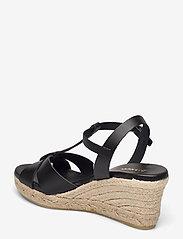 Bianco - BIADENA Sandal - espadrilles mit absatz - black - 2
