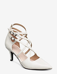 Bianco - BIAADINA Thin Strap Pump - klassiske pumps - white 3 - 0