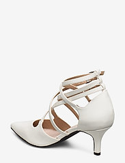 Bianco - BIAADINA Thin Strap Pump - klassiske pumps - white 3 - 2