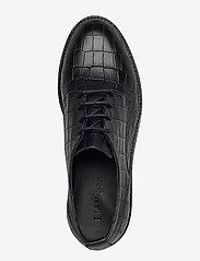 Bianco - BIACALDER Leather Shoe - snörskor - black 9 - 3
