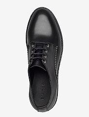 Bianco - BIACALDER Leather Shoe - schnürschuhe - black - 3