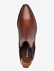 Bianco - BIACOCO Chelsea Western - chelsea boots - cognac - 3