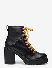 Bianco - BIACURTIS Leather Boot - enkellaarsjes met hak - black - 1