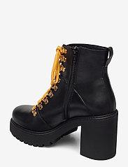 Bianco - BIACURTIS Leather Boot - enkellaarsjes met hak - black - 2