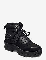 Bianco - BIACORO Chunky Winter Boot - platte enkellaarsjes - black 1 - 0