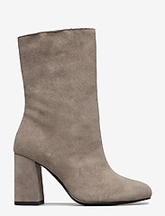 Bianco - BIACANDICE Suede Tube Boot - ankle boots with heel - warm grey - 1