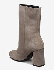 Bianco - BIACANDICE Suede Tube Boot - ankle boots with heel - warm grey - 2