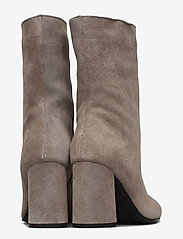 Bianco - BIACANDICE Suede Tube Boot - ankle boots with heel - warm grey - 4