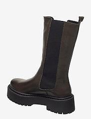 Bianco - BIADEB Long Boot - platte enkellaarsjes - khaki - 2
