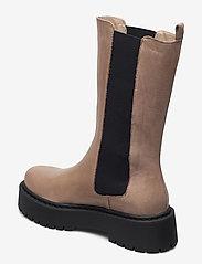 Bianco - BIADEB Long Boot - platte enkellaarsjes - light brown 6 - 2
