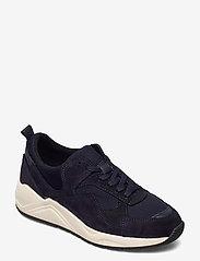 Bianco - BIADAKOTA Suede Sneaker - lage sneakers - navy blue 1 - 0