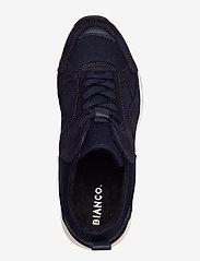 Bianco - BIADAKOTA Suede Sneaker - lage sneakers - navy blue 1 - 3