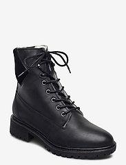 Bianco - BIACHERYL Winter Warm Boot - flade ankelstøvler - black - 1