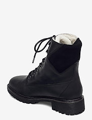 Bianco - BIACHERYL Winter Warm Boot - platte enkellaarsjes - black - 2