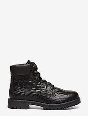 Bianco - BIACHARLIE Winter Hiking Boot - flade ankelstøvler - black 9 - 1