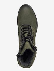 Bianco - BIACOLLINS Winter Leather Boot - platte enkellaarsjes - army green 2 - 3