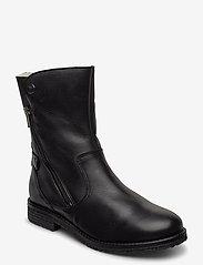 Bianco - BIAATALIA Winter Zipper Boot - flade ankelstøvler - black - 1
